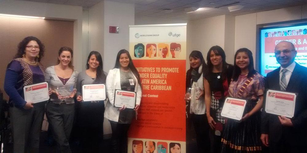 Reconocimiento Mundial para Paz Joven Guatemala (WSYA)